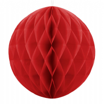 40cm Honeycomb Ball - Red